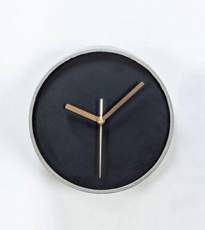 שעון פחם אפור קטן